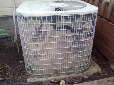 Dirty Condenser Coil